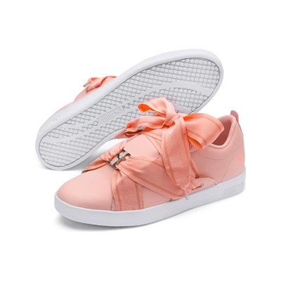 Puma SMASH BUCKLE LOW SNEAKERS KORALLENFARBEN
