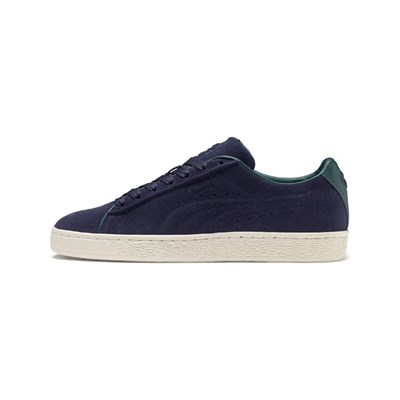 Puma RAISED FS LEDERSNEAKERS MARINEBLAU