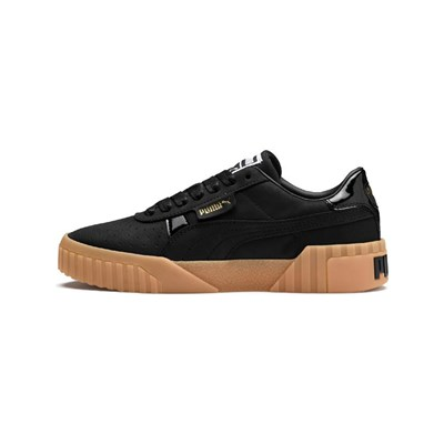Puma CALI FASHION BASKETS EN CUIR NOIR Chaussure France_v7334