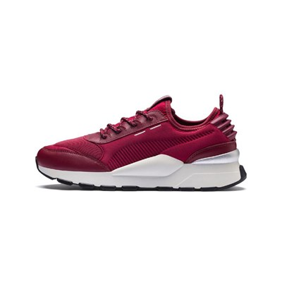 Puma TROPHY LOW SNEAKERS BORDEAUXROT