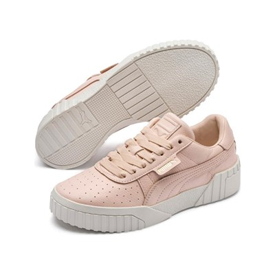 En 3071518 Caoutchouc Puma Baskets Cali Fashion Rose Basses Cuir nIqFO