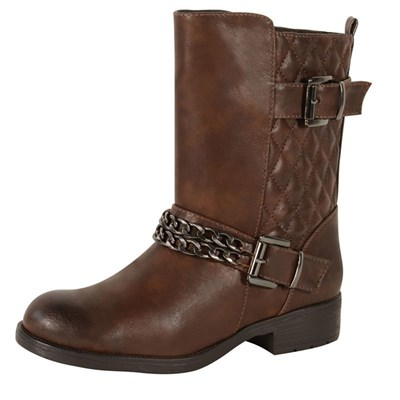 The Divine Factory BOTTINES MARRON