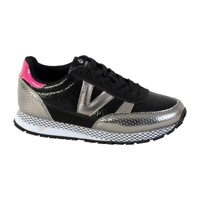 Victoria COMETA RUNNING BASKETS BASSES ANTHRACITE Chaussure France_v6855
