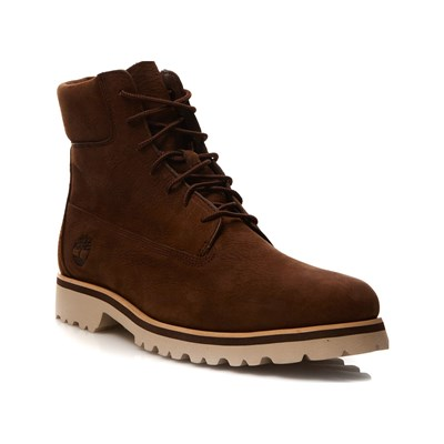 Timberland BOOTS MONTANTES EN CUIR MARRON Chaussure France_v12414