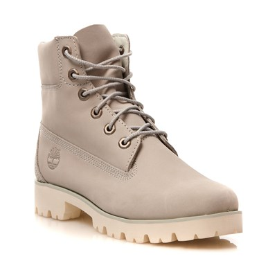 Timberland BOOTS MONTANTES EN CUIR BEIGE Chaussure France_v11174