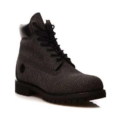 Timberland BOOTS MONTANTES EN CUIR NOIR Chaussure France_v11032