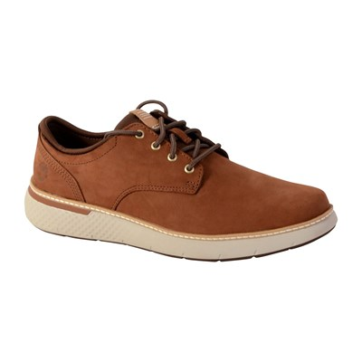 Timberland CROSS MARK PT OXFORD BASKETS BASSES COGNAC