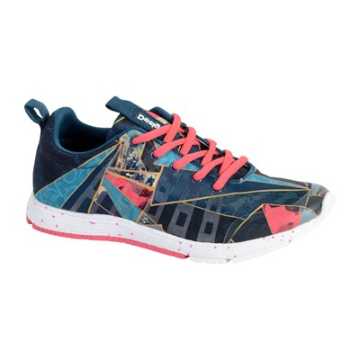 Desigual SHOES TRAINING BASKETS BASSES MULTICOLORE