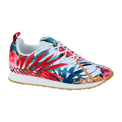 Desigual RUBBER SOLE BASKETS BASSES MULTICOLORE