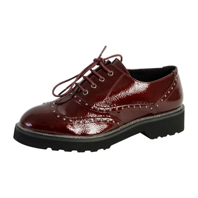 The Divine Factory QL3424 DERBIES BORDEAUX