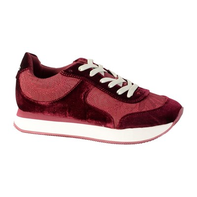 Desigual ANDROID B.C BASKETS BASSES BORDEAUX Chaussure France_v6849