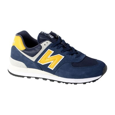 New Balance ML574 BASKETS BASSES BLEU MARINE Chaussure France_v8077