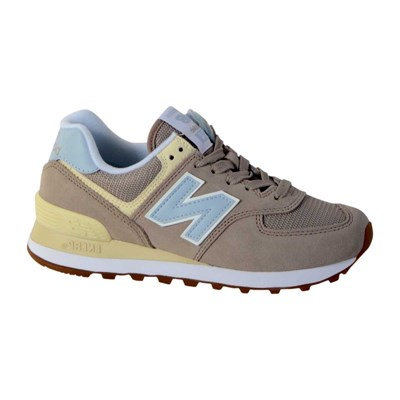 New Balance WH574 BASKETS BASSES ROSE CLAIR Chaussure France_v11167