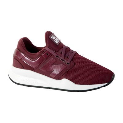 New Balance WS247 BASKETS BASSES BORDEAUX