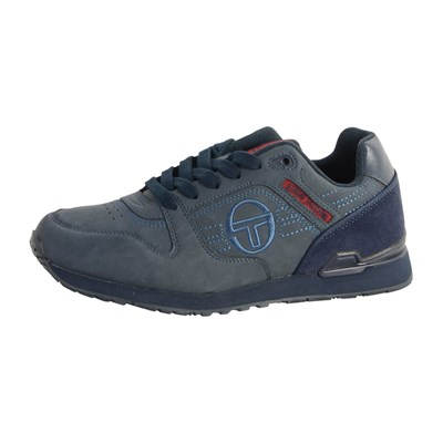 Chaussures Homme | Sergio Tacchini SONIC MIX BASKETS BASSES BLEU MARINE