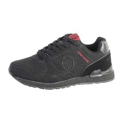 Chaussures Homme | Sergio Tacchini SONIC MIX BASKETS BASSES NOIR