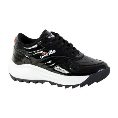 Ellesse RETRO WOMAN BASKETS BASSES NOIR Chaussure France_v7668