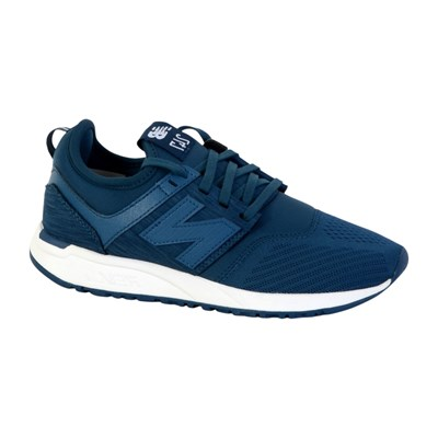 New Balance WRL247 BASKETS BASSES BLEU Chaussure France_v7641