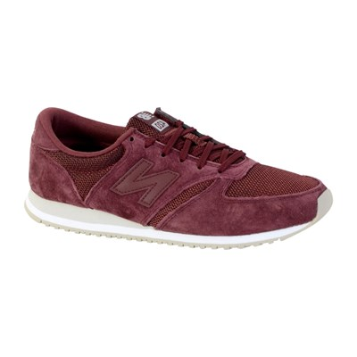 New Balance U420 BASKETS BASSES ROUGE Chaussure France_v7640
