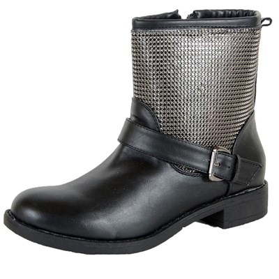 Enza Nucci BOTTINES NOIR Chaussure France_v2969