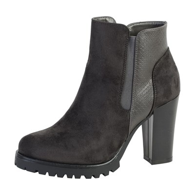 Chaussures Femme | The Divine Factory BOTTINES GRIS