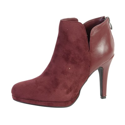 The Divine Factory BOTTINES ROUGE Chaussure France_v3563