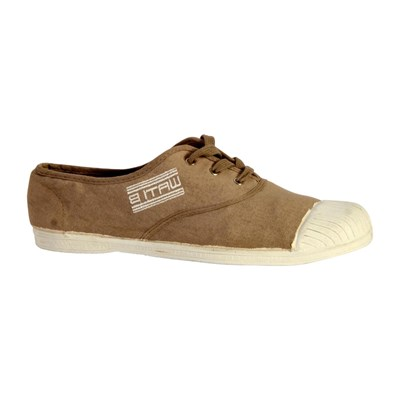 Wati B BASKETS BASSES TAUPE Chaussure France_v1015