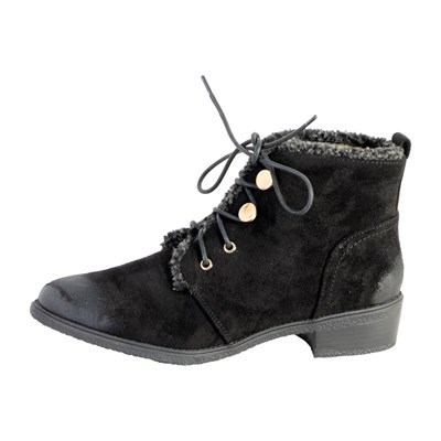 The Divine Factory BOTTINES NOIR Chaussure France_v4283
