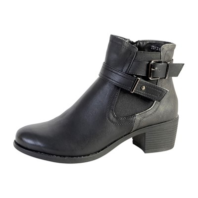 The Divine Factory BOTTINES NOIR Chaussure France_v5030