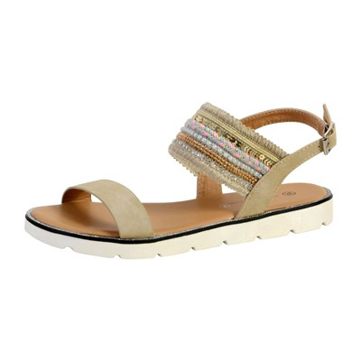 The Divine Factory SANDALES BEIGE Chaussure France_v666