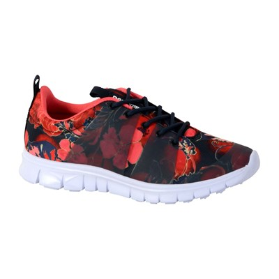 Desigual RUBBER PRINT SCARLET BASKETS BASSES MULTICOLORE Chaussure France_v6850