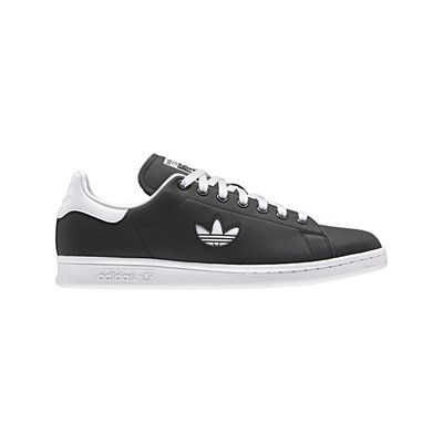 adidas Originals STAN SMITH LEDERSNEAKERS SCHWARZ