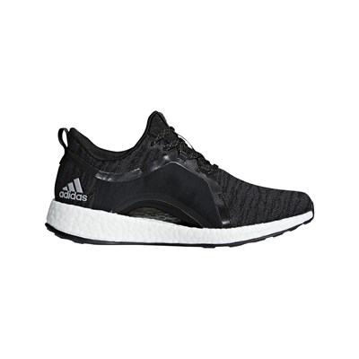 adidas Performance PURE BOOST LOW SNEAKERS SCHWARZ
