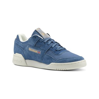 Reebok Classics WORKOUT LO PLUS BASKETS BASSES ARDOISE Chaussure France_v6194