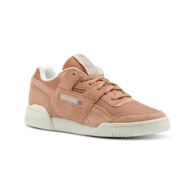 Reebok Classics WORKTOU LO PLUS BASKETS BASSES SAUMON Chaussure France_v6198