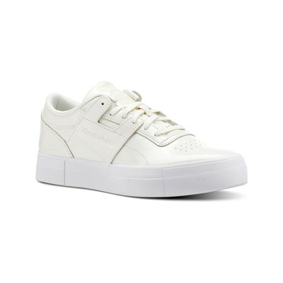 Reebok Classics WORKOUT LO FVS BASKETS EN CUIR BLANC Chaussure France_v6190
