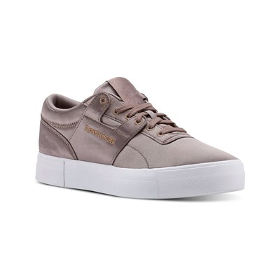 Reebok Classics WORKOUT LO FVS TXT BASKETS BASSES TAUPE Chaussure France_v6193