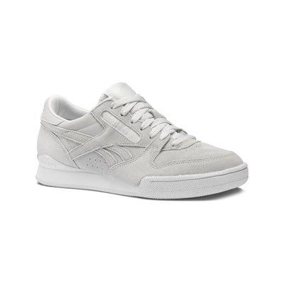 Reebok Classics PHASE 1 PRO BASKETS EN CUIR BLANC Chaussure France_v6186
