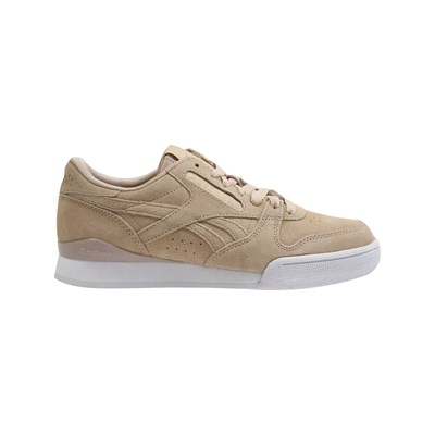Reebok Classics PHASE 1 PRO BASKETS EN CUIR MARRON CLAIR Chaussure France_v6188