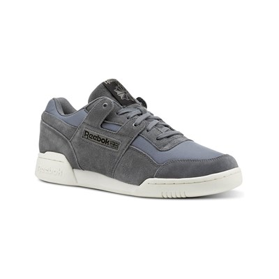 Reebok Classics WORKOUT PLUS MU SNEAKERS AUS LEDER GRAU