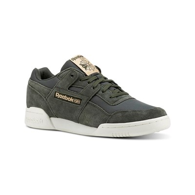 Reebok Classics WORKOUT PLUS MU SNEAKERS AUS LEDER KHAKI