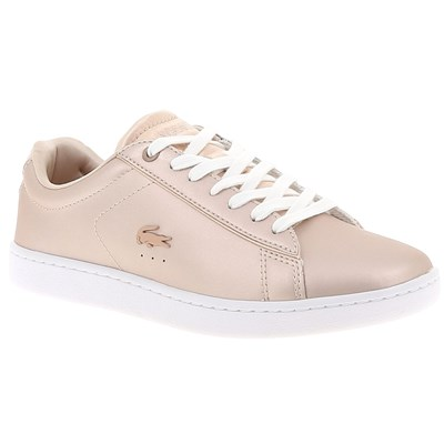 Lacoste CARNABY EVO 318 BASKETS BASSES ROSE Chaussure France_v9922