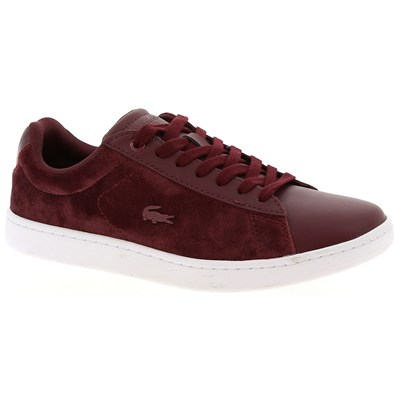 Lacoste CARNABY EVO 318 CARNABY EVO 318 BASKETS BASSES BORDEAUX