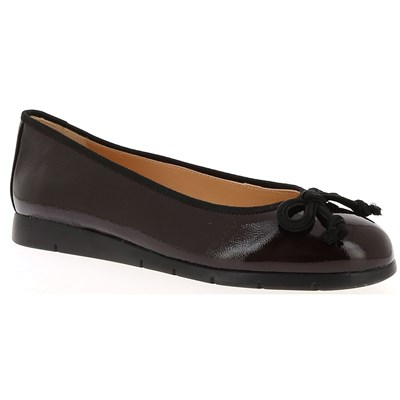 UNISA BALLERINES BORDEAUX Chaussure France_v12417