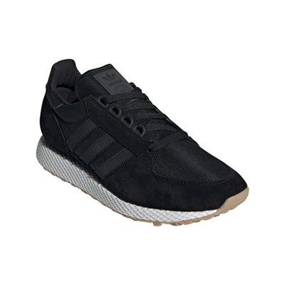 adidas Originals FOREST GROVE LEDERSNEAKERS SCHWARZ