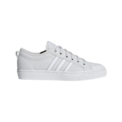 Basses Adidas 3014976 Caoutchouc Originals Baskets Nizza Gris Clair gBBPqn