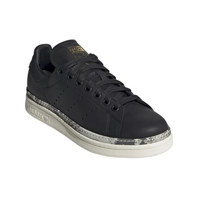 3014978 Noir Stan En Cuir New Caoutchouc Bold Smith Originals Adidas Baskets 1wq8P1v
