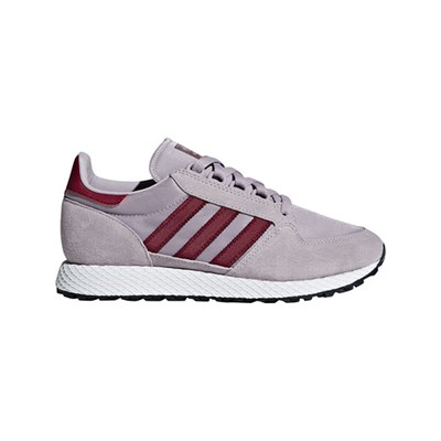 adidas Originals FOREST GROVE BASKETS EN CUIR LILAS