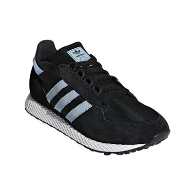 adidas Originals FOREST GROVE SNEAKERS IN PELLE NERO