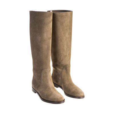 Chaussures Femme | Sergio Rossi BOTTES EN CUIR CAMEL